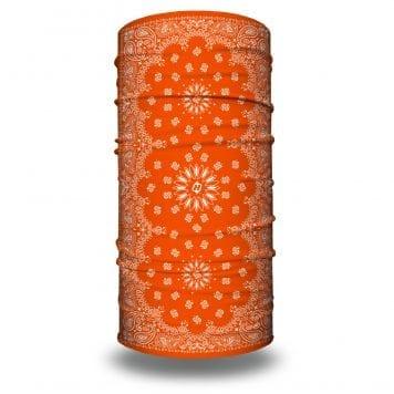 Orange Paisley Bandana by Hoo-rag | Just 15.95