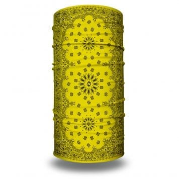 Yellow Paisley Bandana by Hoo-rag | Just $15.95