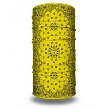 Yellow Paisley Bandana by Hoo-rag | Just $15.95