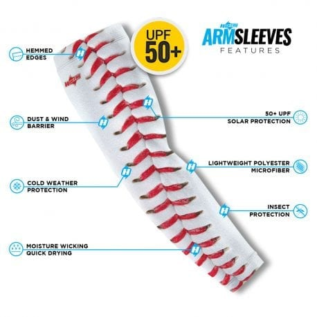 Curveball Arm Sleeves | Buy Alone or in a Pair