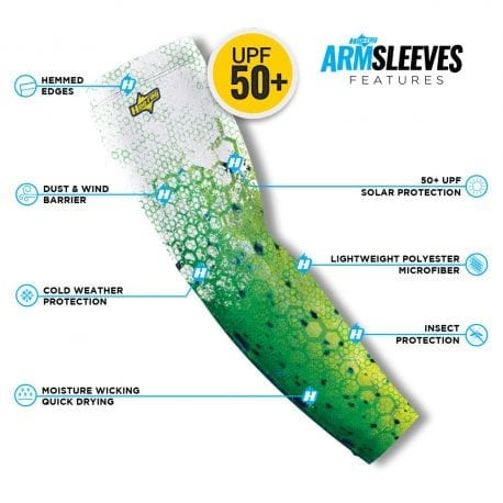 Dolphin Reel Photo Arm Sleeve | Buy Alone or in a Pair