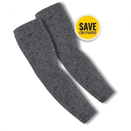 Heather Grey Arm Sleeves | Buy Alone or in a Pair