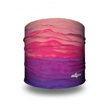 Sedona Sunrise - Pink and Purple Gradient Yoga Headband | Bandanas by Hoo-rag, just $9.95