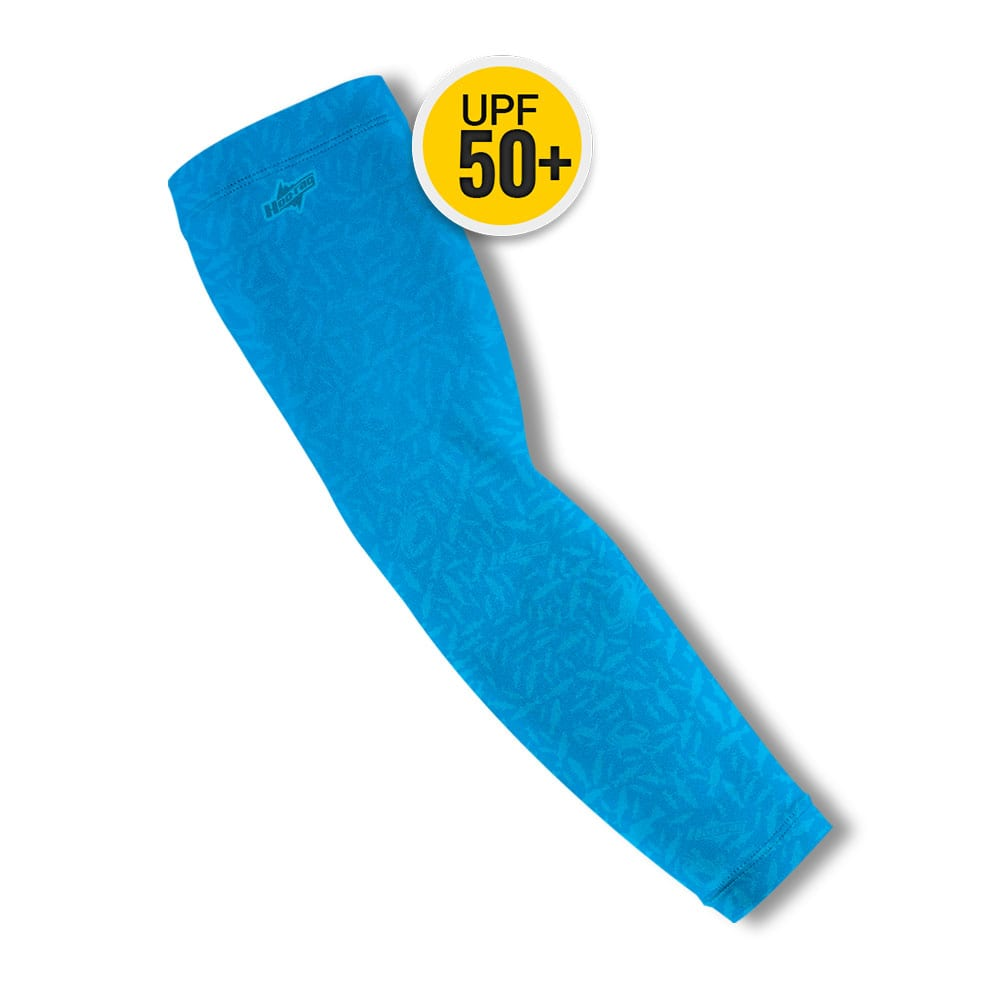 Skinny Water Blue Arm Sleeves | Buy Alone or in a Pair