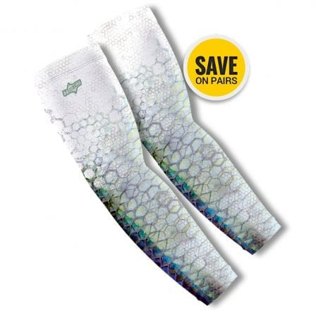 Tarpon Reel Photo Arm Sleeves | Buy Alone or in a Pair