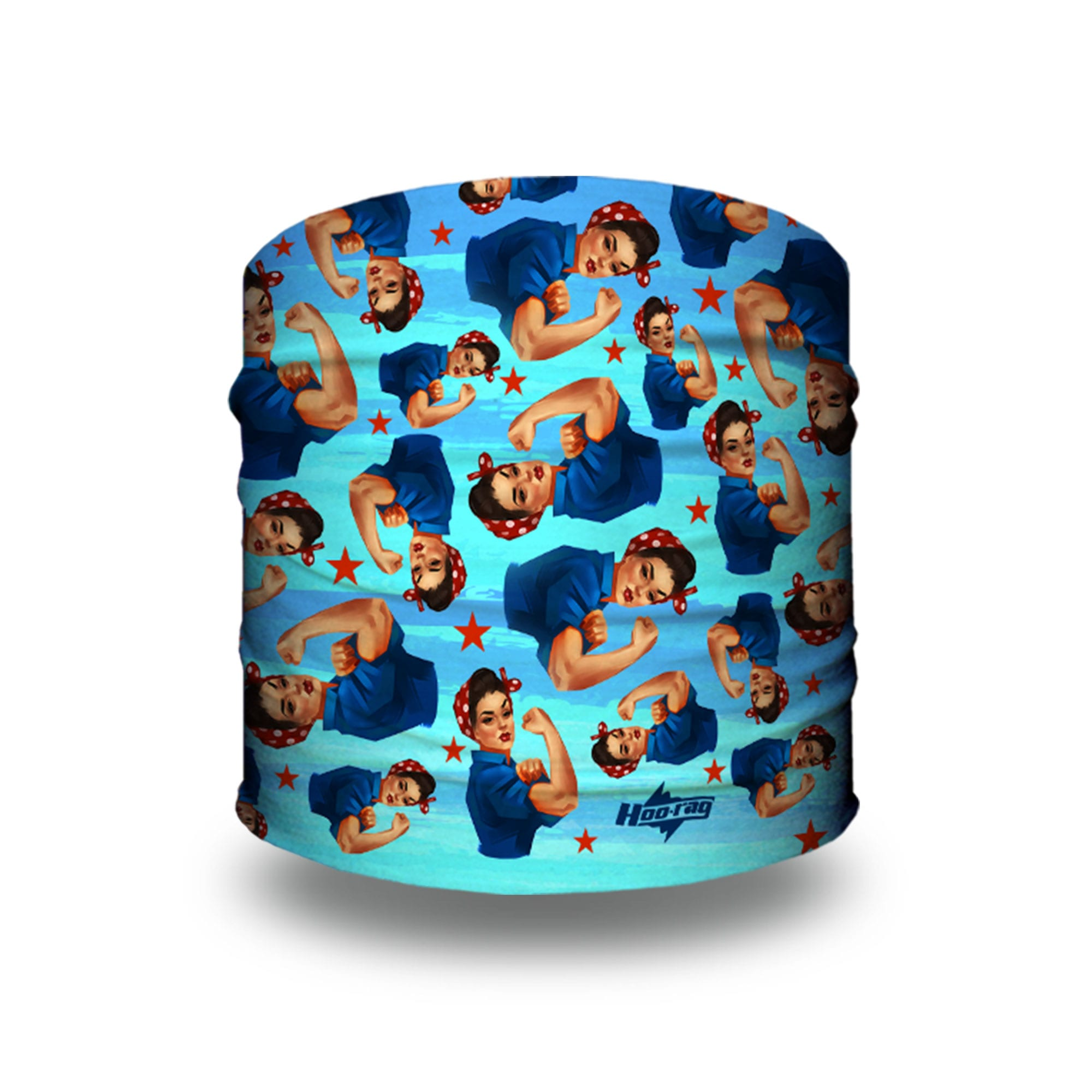 Rosie icon patterned Yoga Headband | Bandanas by Hoo-rag, just $9.95