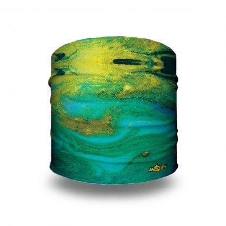 GalaxSea - Blue-Green Tie Dye Yoga Headband | Bandanas by Hoo-rag, just $9.95