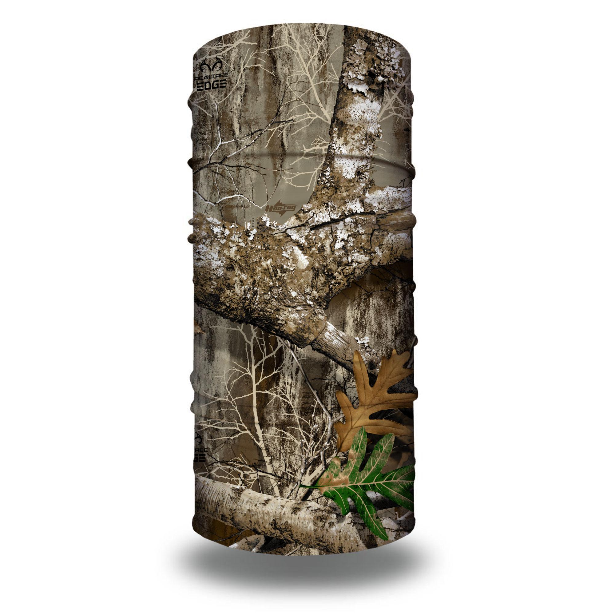 Hunting Oak Camo Branch Tree Camouflage Tubular Multi Function Head Wear Beanie