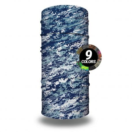 image of a blue digital camo pattern with color wheel showing 9 options
