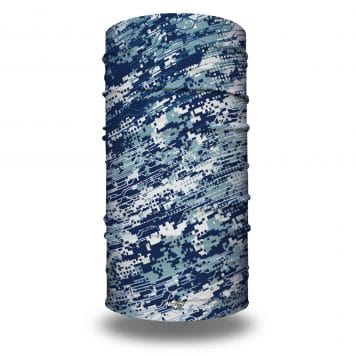 HRXL06 Extra Large Blue Digital Camo Bandana by Hoo-rag