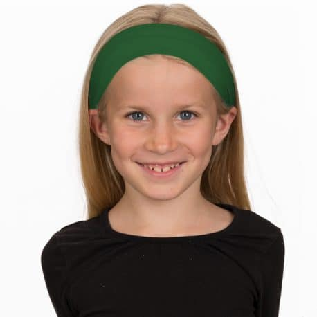 image of a girl in a green headband