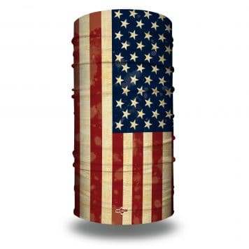 HRXL02 Extra Large Old Glory Flag Bandana by Hoo-rag