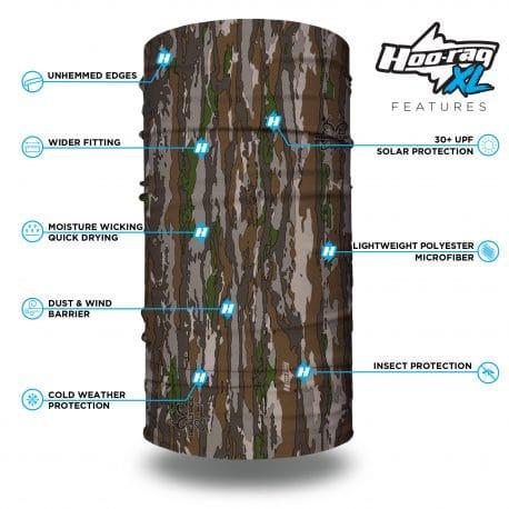 HRXL14 Extra Large Real Tree Original Bandana by Hoo-rag