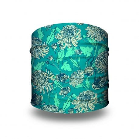 green dandelion flower headband