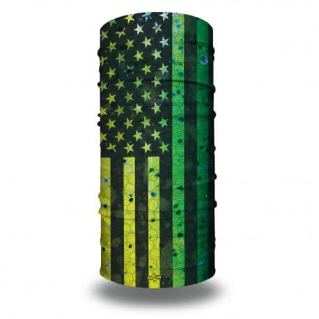 mahi themed american flag bandana