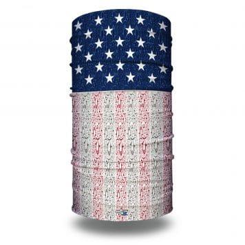extra large american grand slam fishing bandana