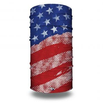 extra large modern styled american flag bandana