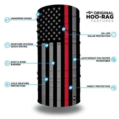 thin red line american flag bandana features list