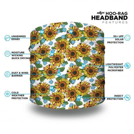 sunflower headband features list