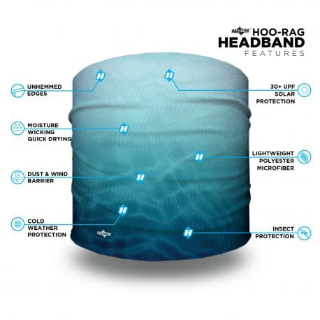 water themed headband
