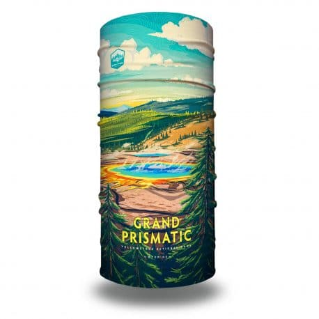 wyoming grand prismatic national park bandana