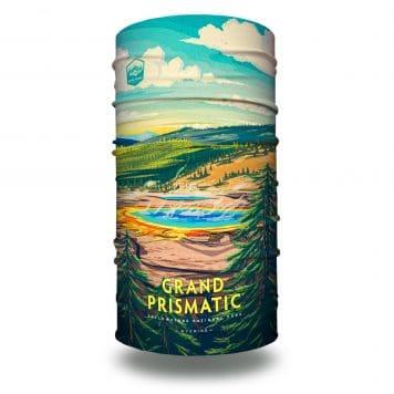 extra large wyoming grand prismatic national park bandana