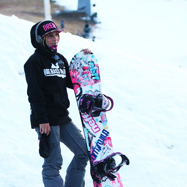 Snowboarder, Rock the Rag,, Hoorag, Snowboarding, Hoo-rag